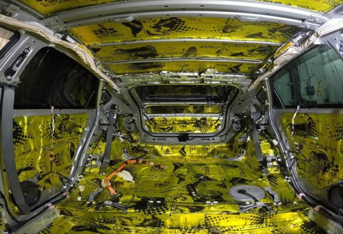 Встановлення додаткової шумоізоляції автомобіля
